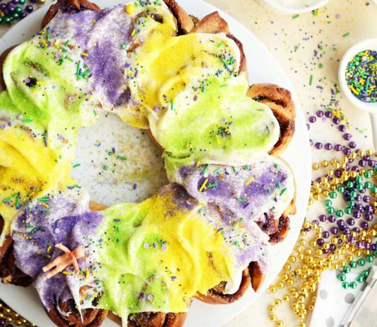 Cinnamon Roll King Cake Joy the Baker