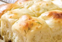 Dill and Gruyère Parker House Rolls