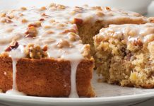 Browned Butter Hummingbird Coffee Cake