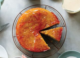 Orange Marmalade Pudding