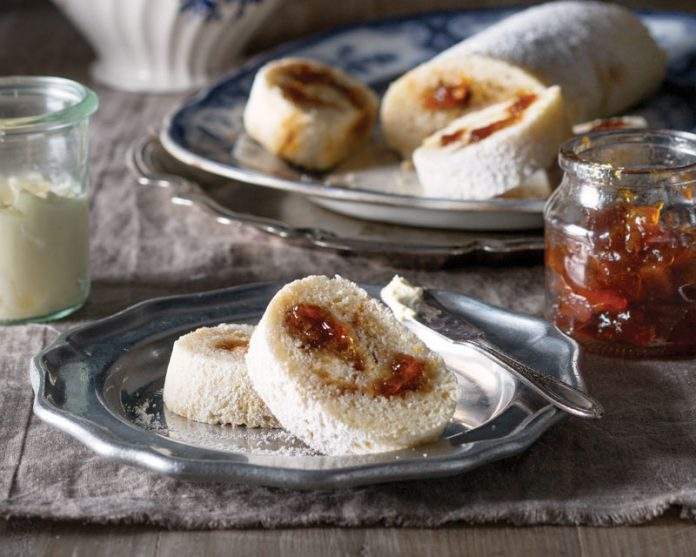 English Breakfast Orange Marmalade Roly Poly