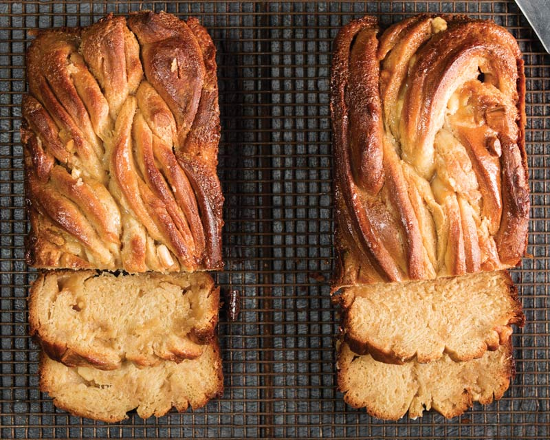 White Chocolate-Tahini Babka