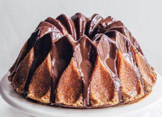 Edd Kimber's Passion Fruit and Chocolate Bundt