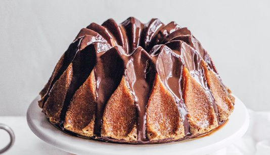 Edd Kimber's Passion Fruit and Chocolate Bundt