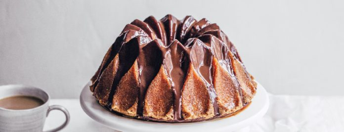 passion fruit and chocolate bundt cake bake from scratch