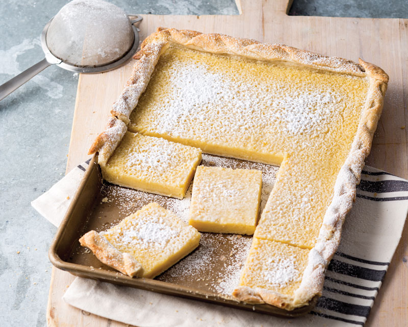 Buttermilk Sheet Pan Pie