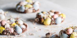 Milk Chocolate Easter Egg Cookies