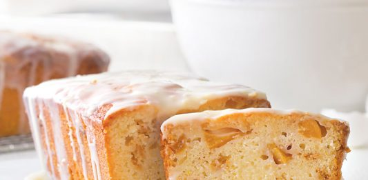 One Bowl Stone Fruit Yogurt Bread