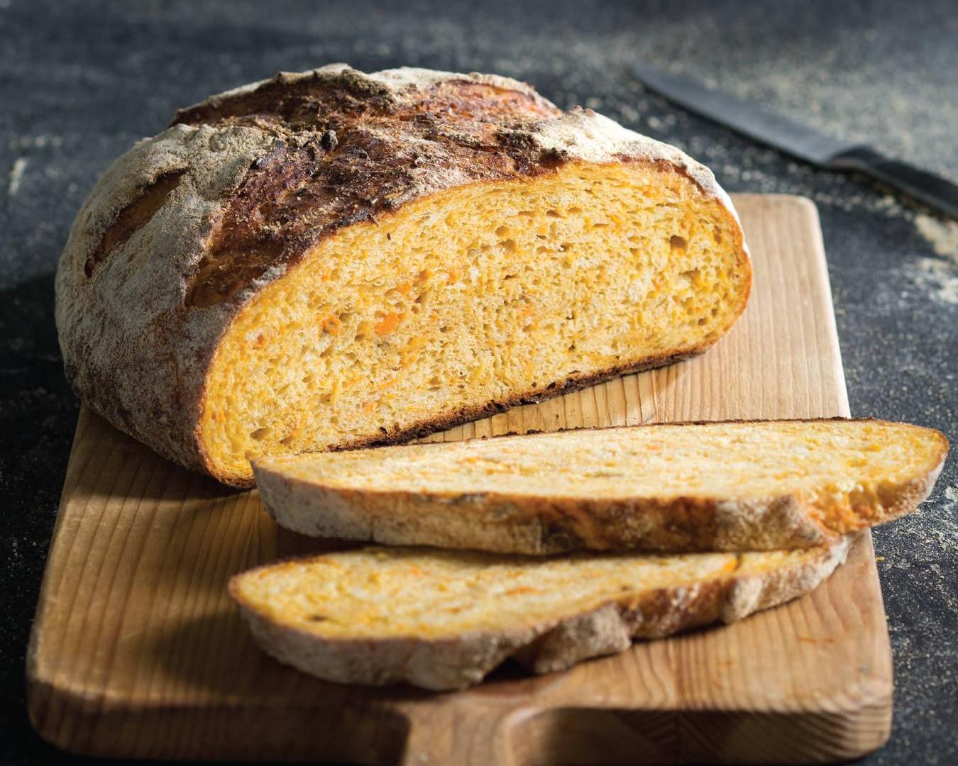Sweet Potato Dutch Oven Bread Bake From Scratch