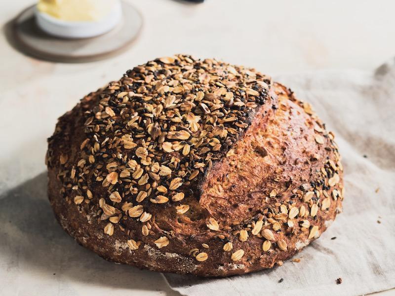 Dutch Oven Whole Wheat Bread Recipe
