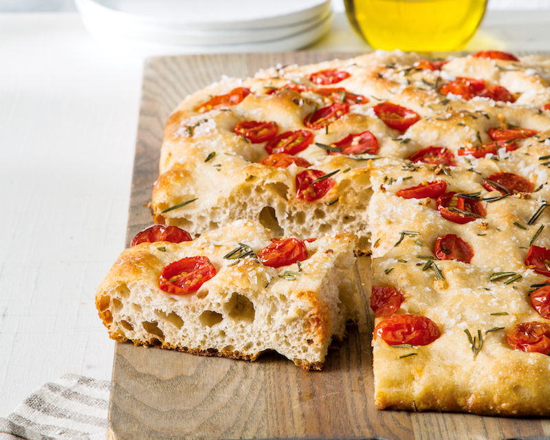Tomato Sourdough Focaccia Bake From Scratch
