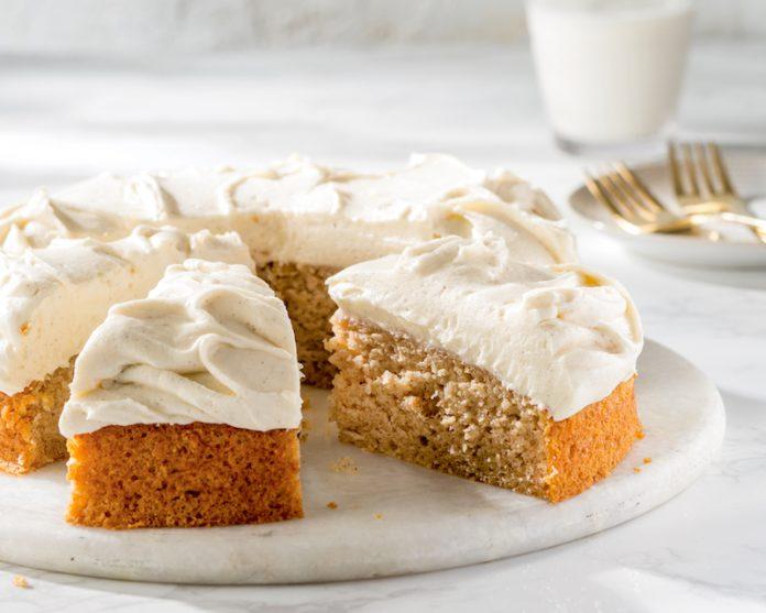 Vanilla Applesauce Cake Bake From Scratch