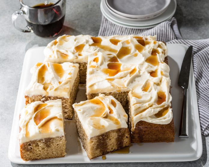 sour cream maple cake