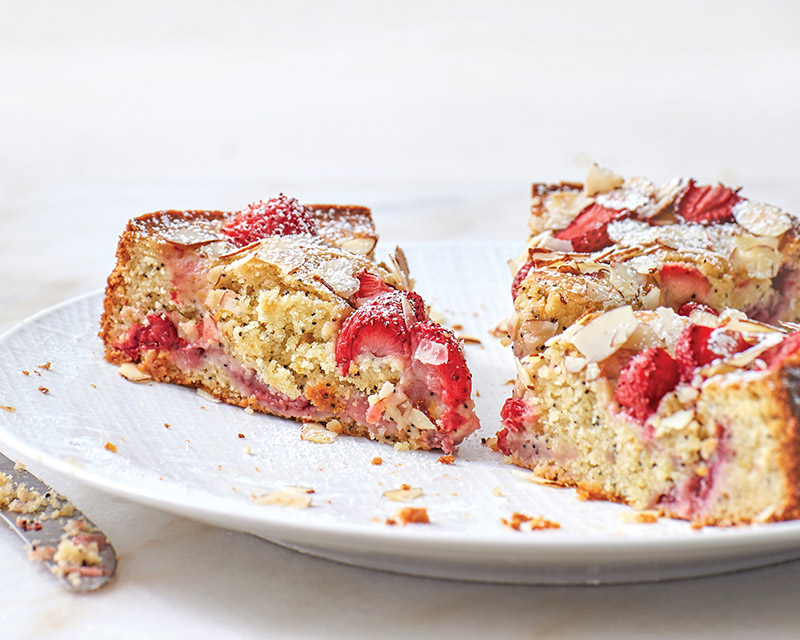 Strawberry Almond Poppy Seed Cake Bake From Scratch