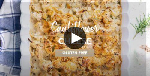 Single Wall Oven Video Cauliflower Cheese