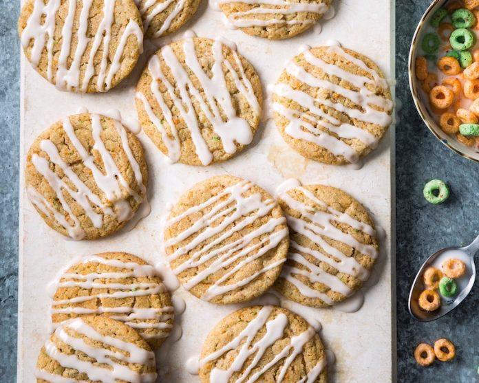 Snickerdoodles de cereais de canela e maçã - leve ao forno 1