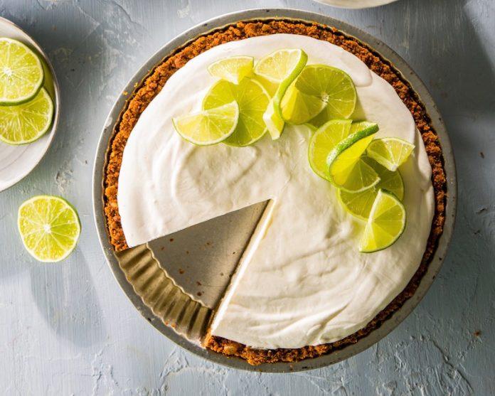 Torta de limão com chave para caixa de gelo - leve ao forno 2