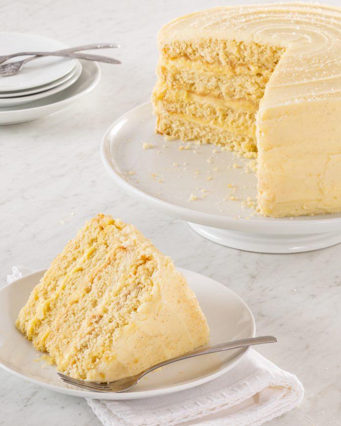 Vanilla Pudding Layer Cake